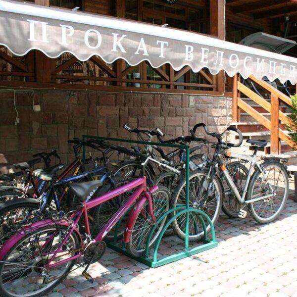 Прокат велосипедів в готелі Лагуна Славське