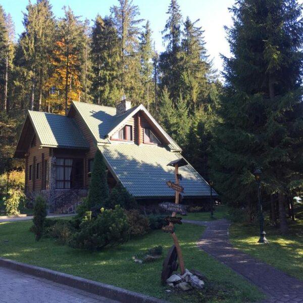 Большой уютный дом Лесной маеток Славское