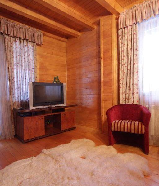 Простора зала для відпочинку котедж вілла Монте