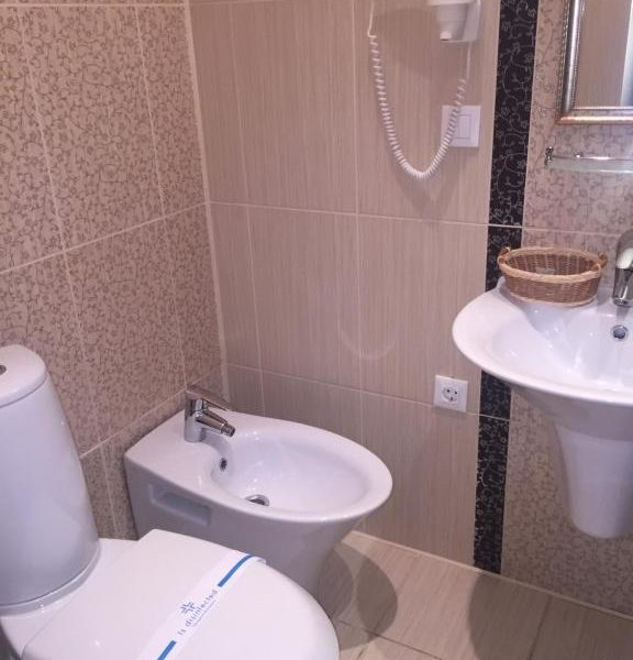 Чистий санвузол готелю Золота Підкова