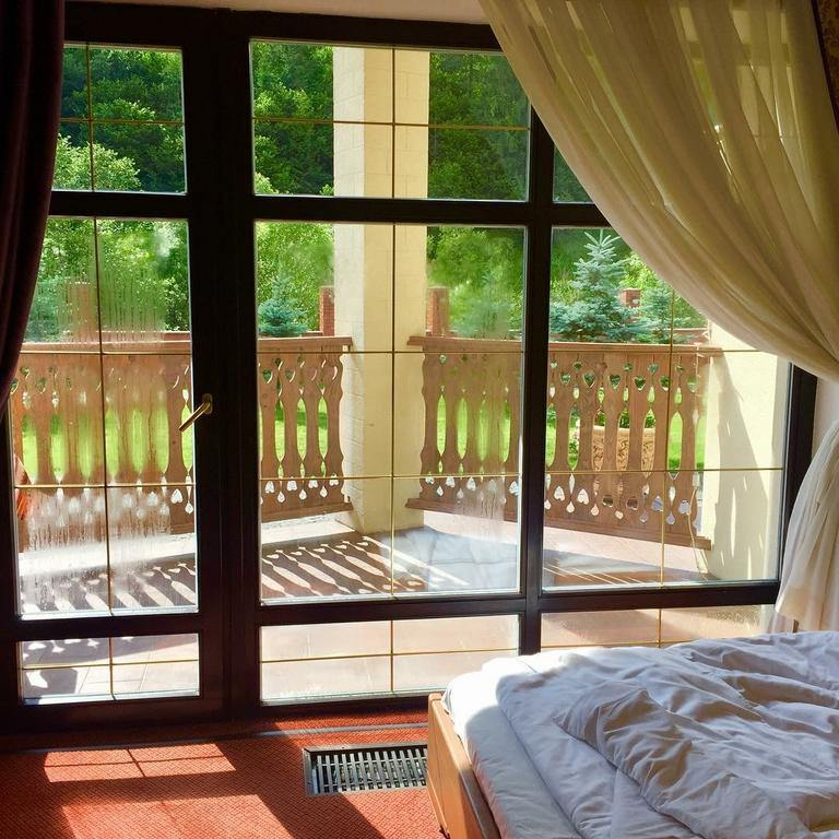 Затишний номер з красивим краєвидом в готелі Золота підкова