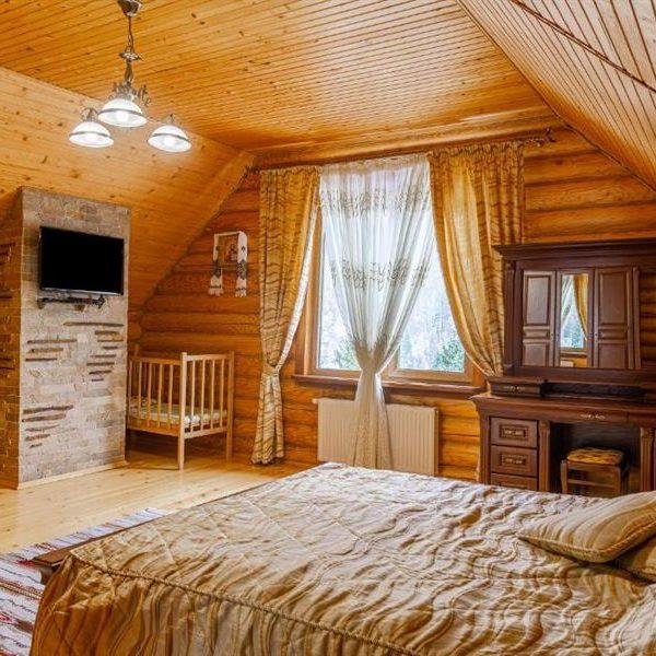 уют коттедж в горах Альпийка Славское