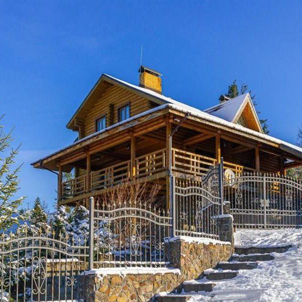 уют отдых в горах вилла Альпийка