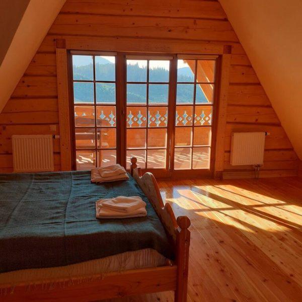 Просторый номер с балконом в отеле Панщина