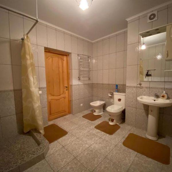 ванная комната коттедж вилла Альпийка Славское