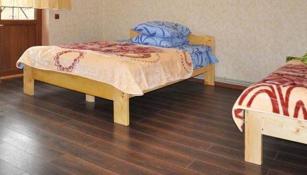 Затишне ліжко в готелі Аура Карпат