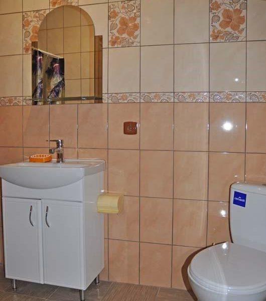 Ванная комната в отеле Аура Карпат Славское