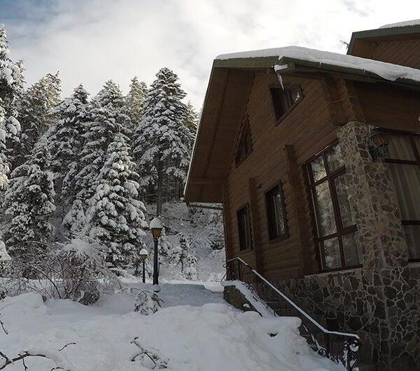 Зимняя сказка отель «Лесной маеток» Славское