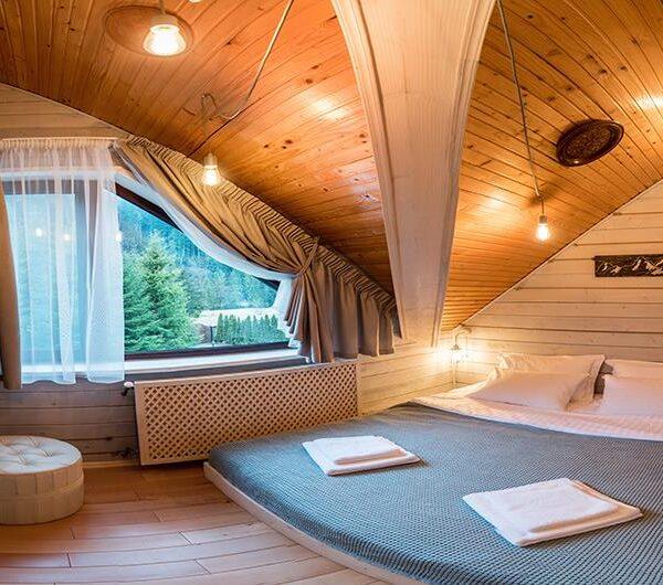 Современный номер в«Лесной маеток» отеле