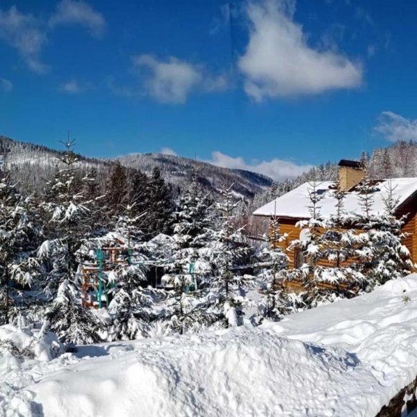 вілла Альпійка в горах Славське