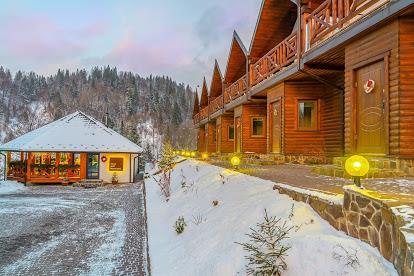 зима вилла Альпийка горы Славское