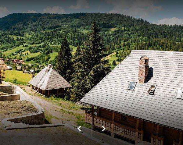 Заворожуючий вид на гори в готелі Панщина, Славське