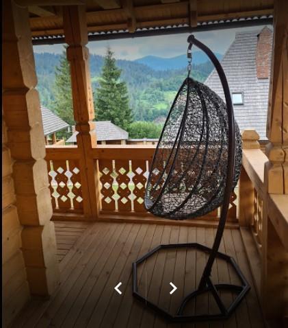 Кресло -гамак для хорошего отдыха в отеле Панщина