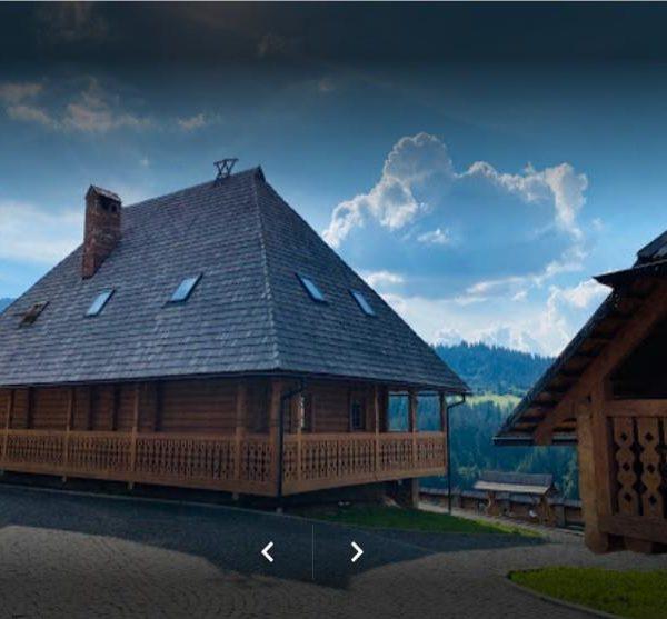 Живописний вигляд на гори в готелі Панщина