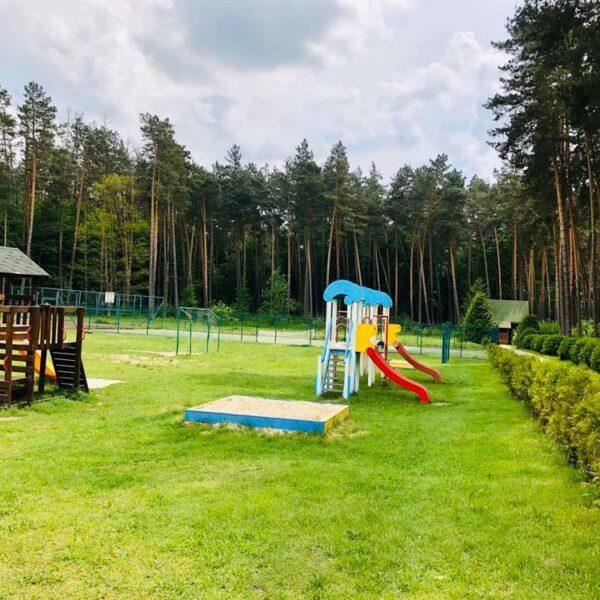 Детская площадка на территории санатория Пролисок