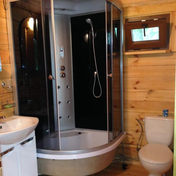 Ванная комната в доме санаторий Пролисок