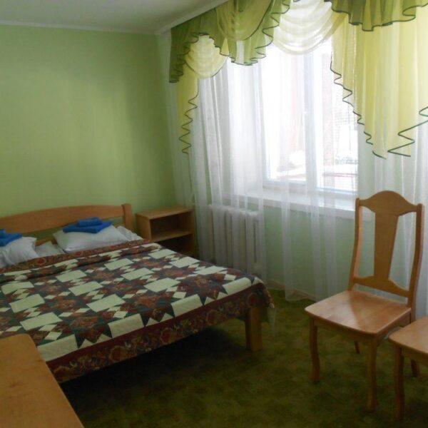 Світлий номер санаторія Пролісок