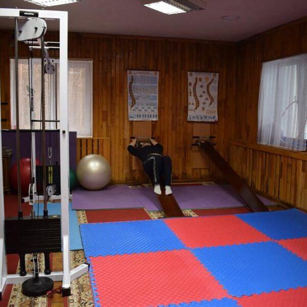 Спортзал в санатории Пролисок