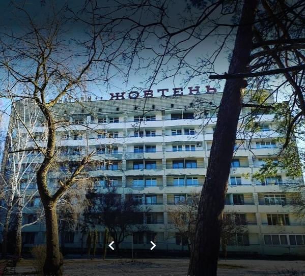 Главный корпус санаторий Жовтень