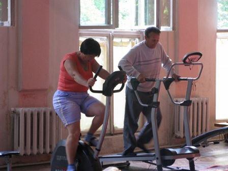 Тренажери в санаторії Любінь Великий