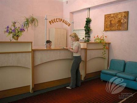 Рецепция в санатории Любень Великий