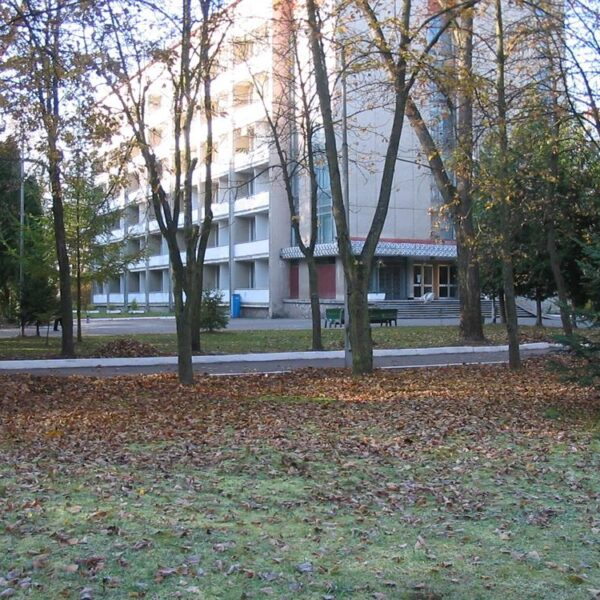 Осінь в санаторії Шкло