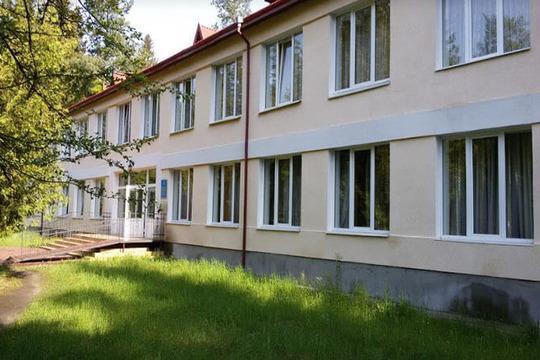 Корпус санаторія Шкло