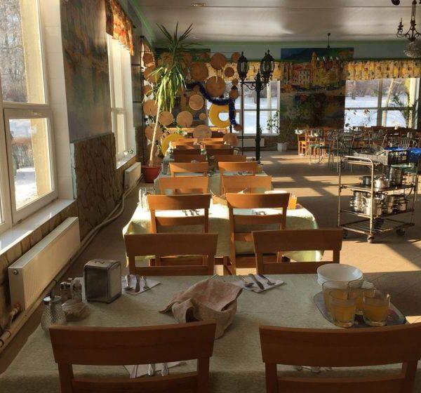 """Ресторан санаторія """"Медобори"""" фото"""